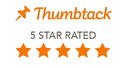 5 Star rating from Thumbtack for Electrical Services in Cheyenne Wyoming